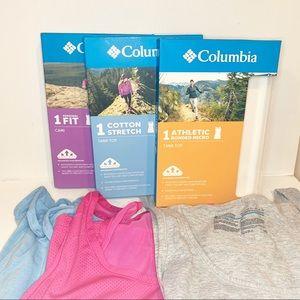 Columbia Athletic Tank Tops Bundle | SZ M